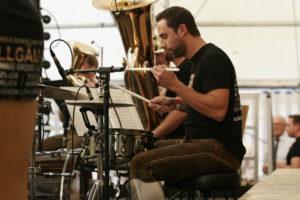 irrsinnig gross beim 1. Festival der Blasmusik in Bottendorf
